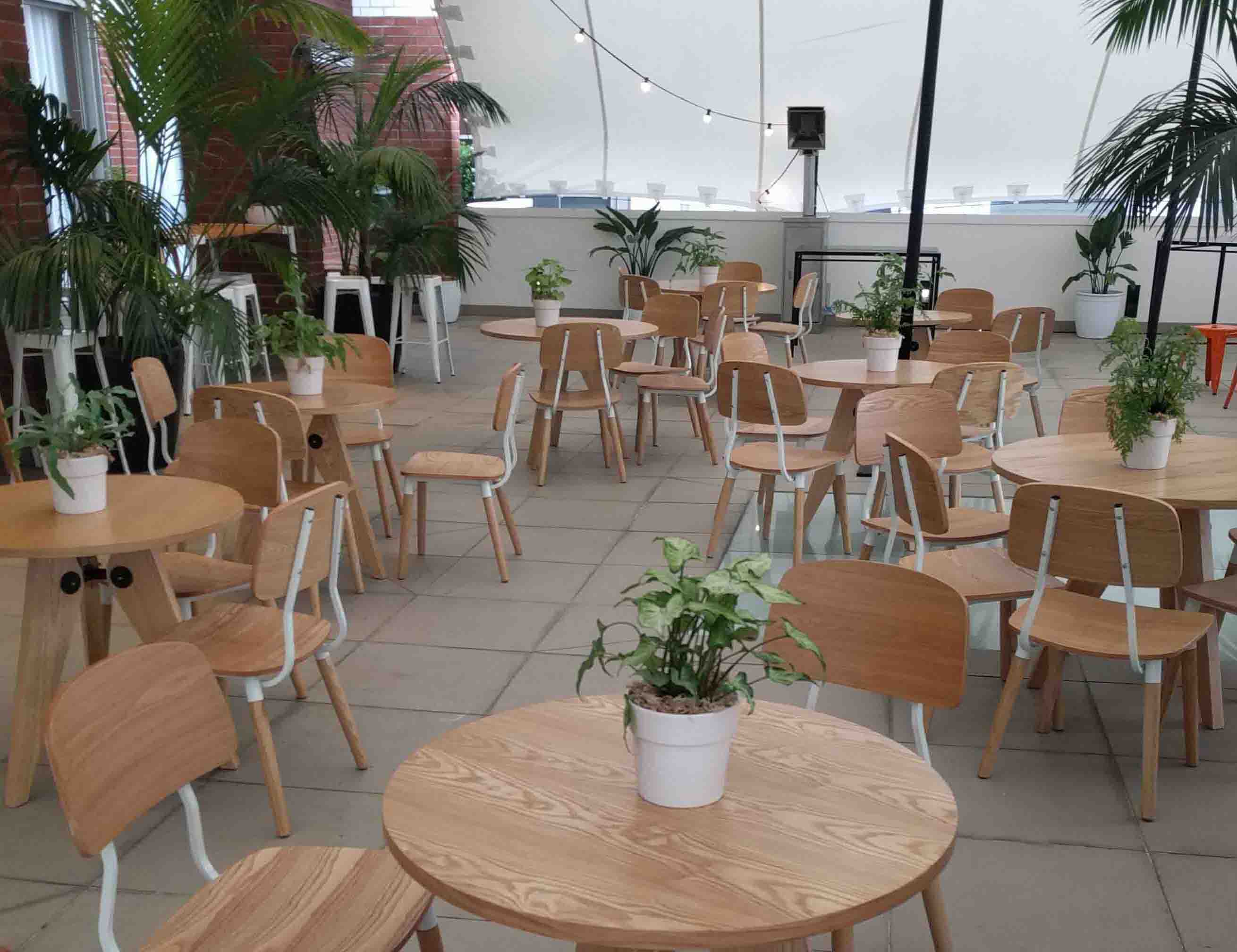 View our furniture packages to hire for your next event
